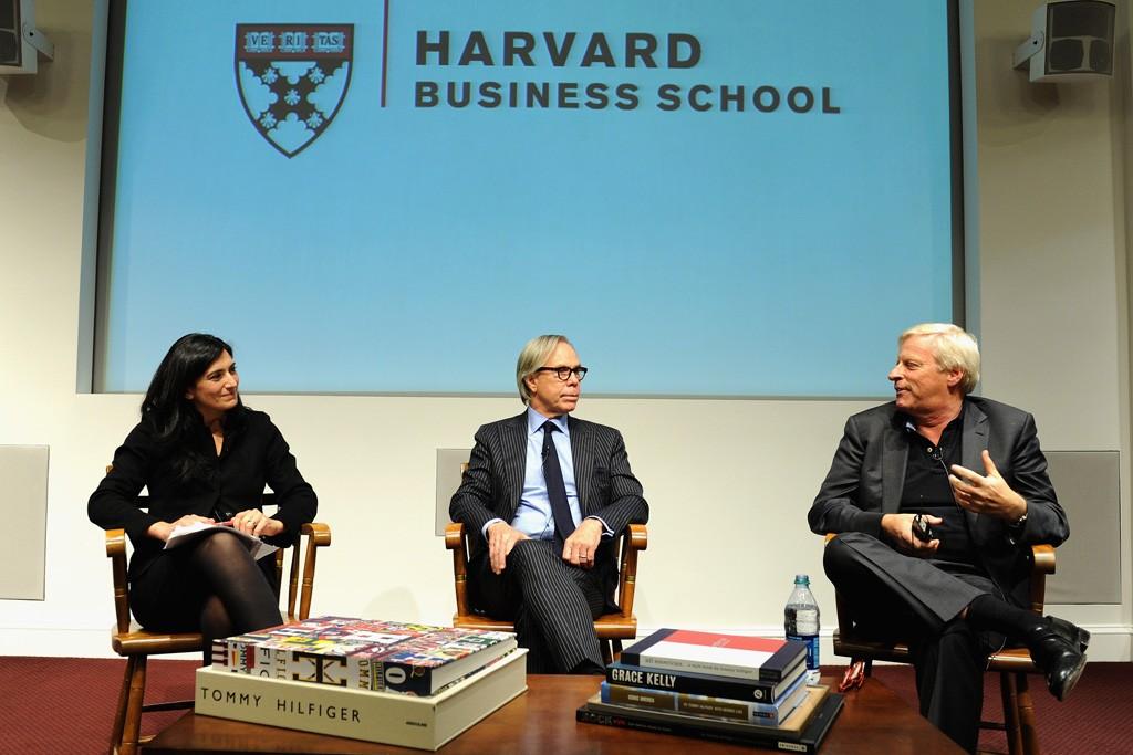 Professor Raffaella Sadun, Tommy Hilfiger and Fred Gehring