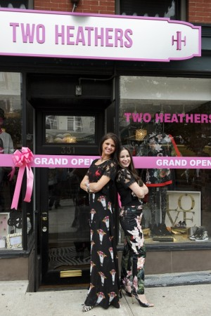 Heather Edwab and Heather Geary