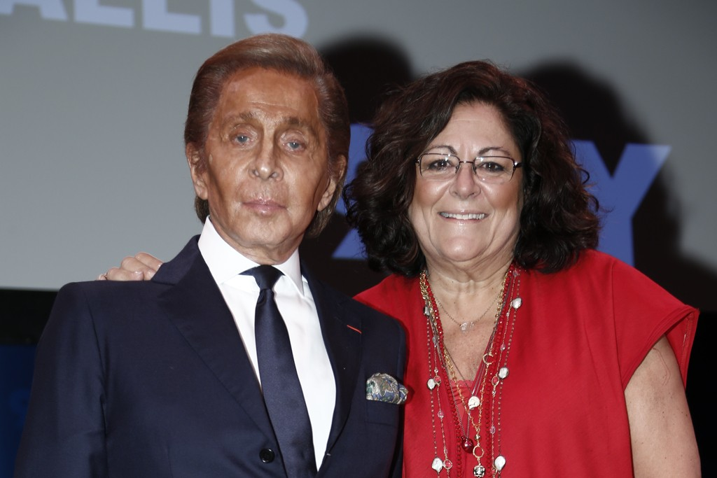 Valentino and Fern Mallis