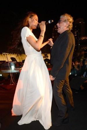 Ciara and Roberto Cavalli