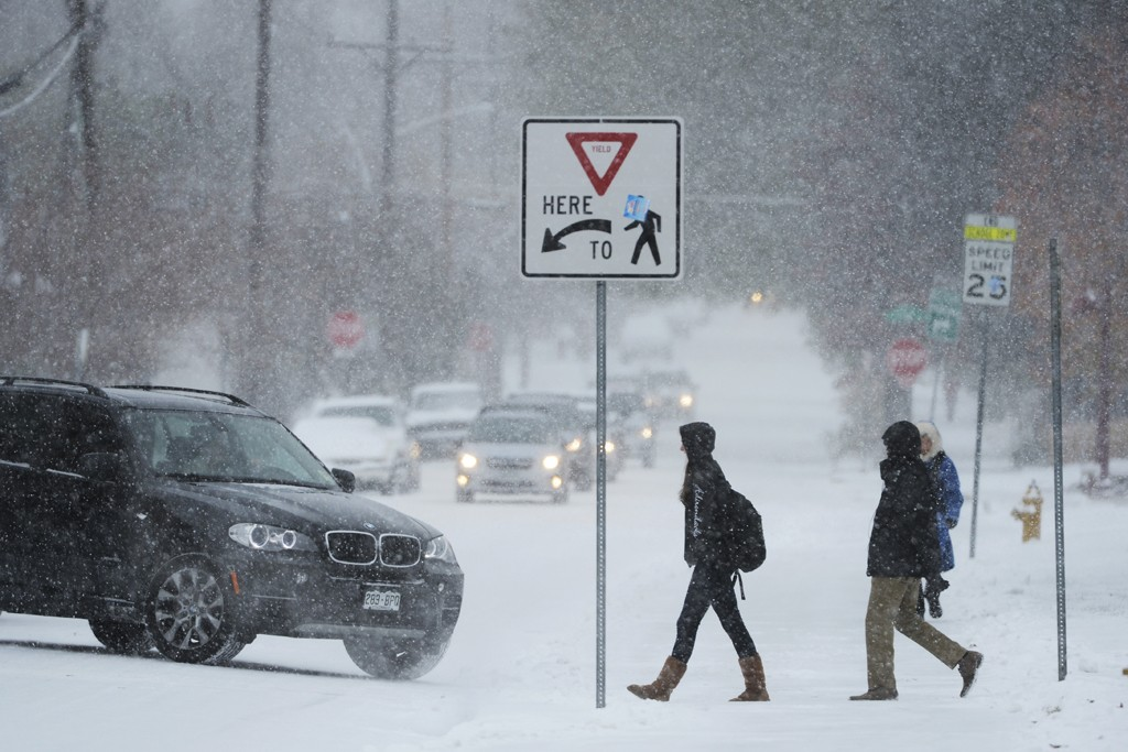 Inclement weather across the country has already skittish retailers further on edge.