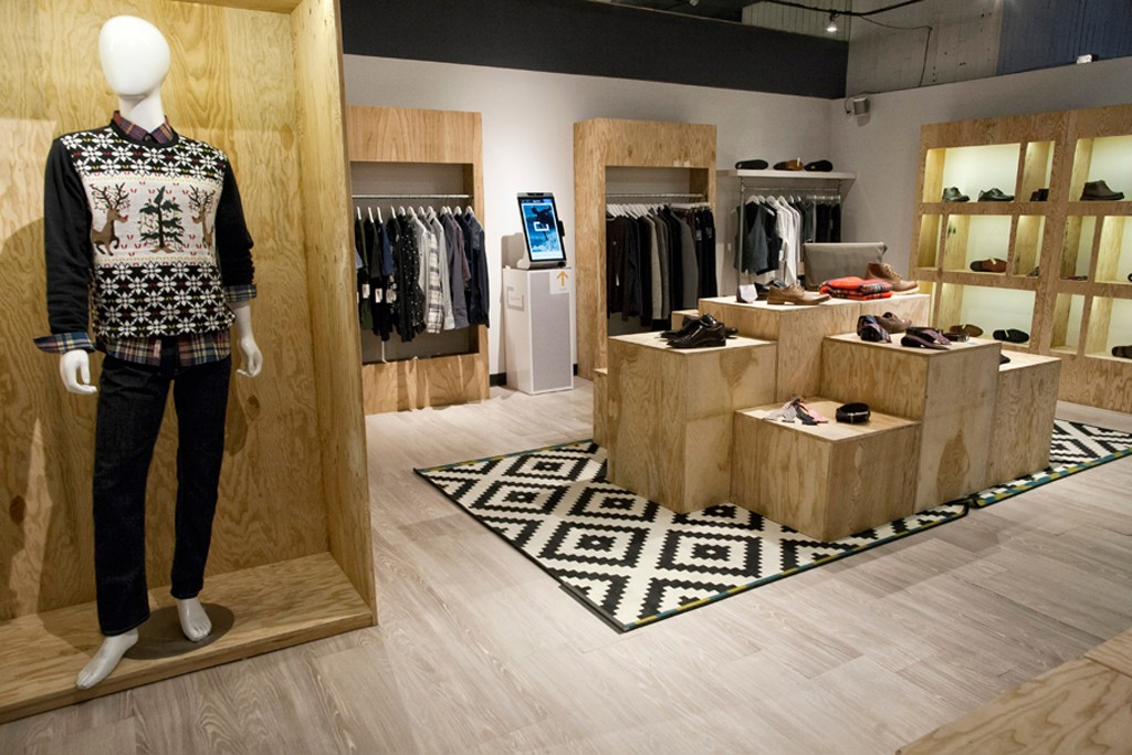Zappos.com's technology-driven pop-up shop could alter the nature of retail.