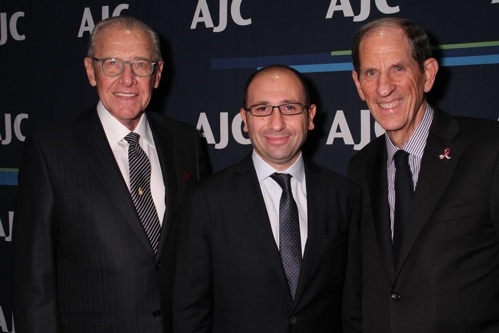 Frank Castagna, Jonathan Zrihen and Michael Gould.