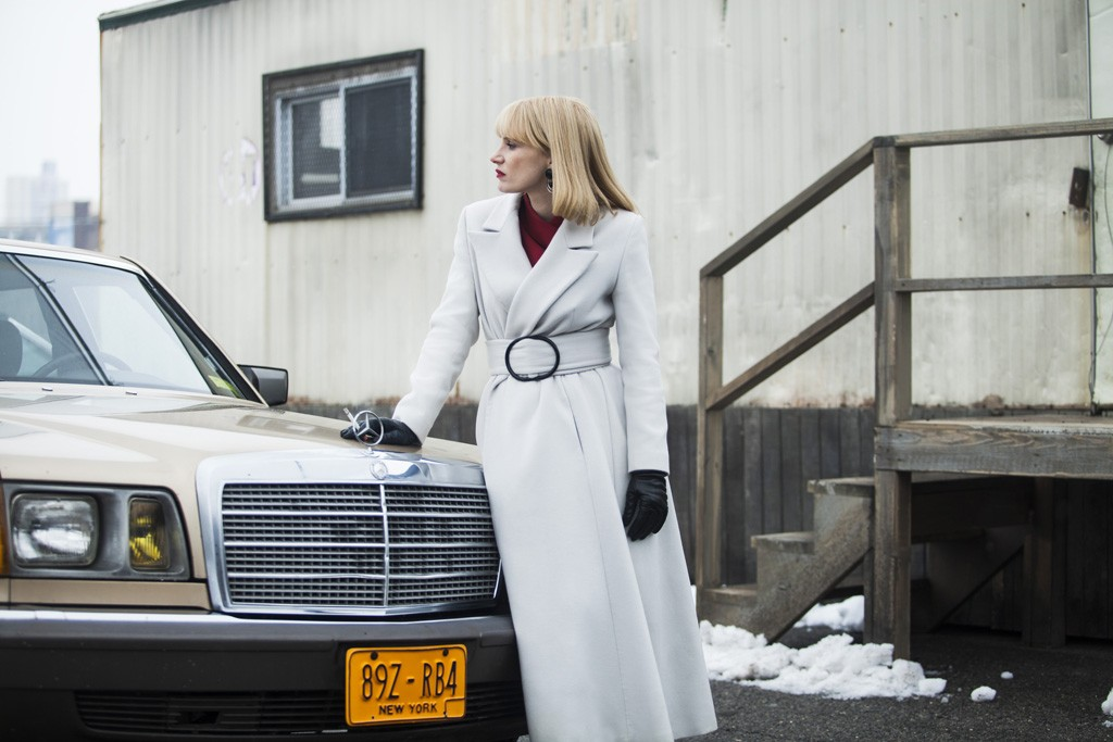 """Jessica Chastin in """"A Most Violent Year."""""""
