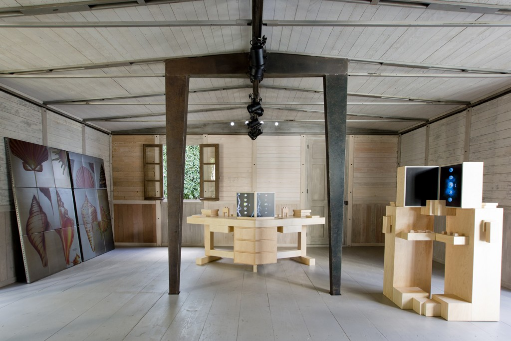 Jean Prouvé's Demountable House restored and exhibited by Bally during Art Basel Miami Beach
