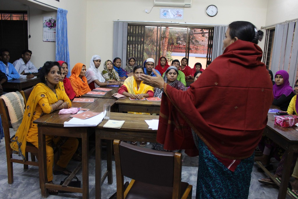 More than 65 percent of the new union leaders in Bangladesh are women.