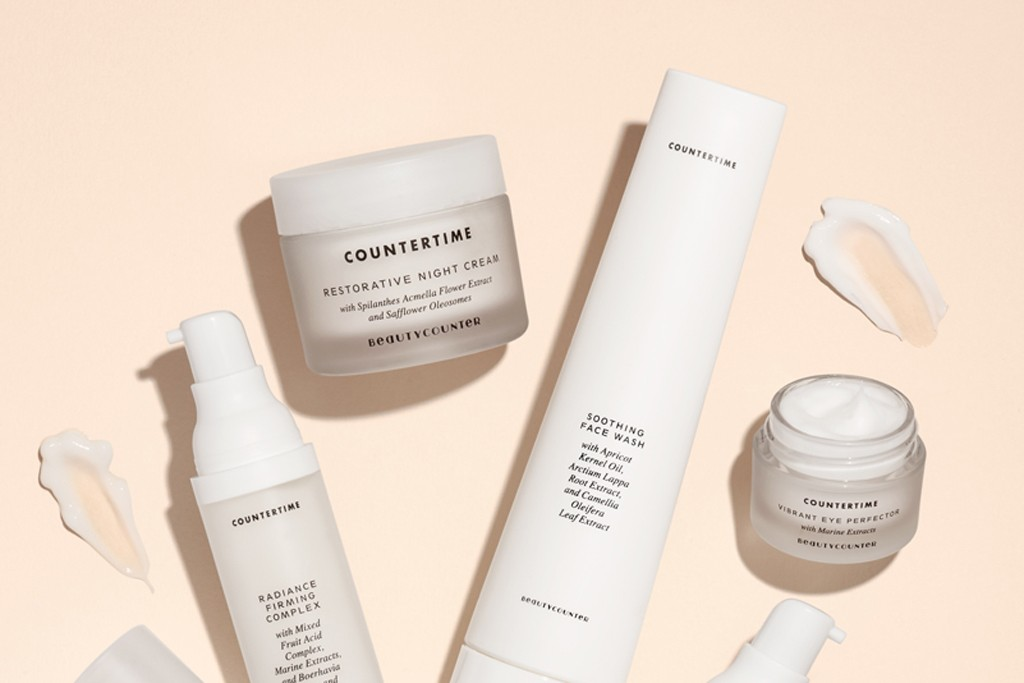 Products from Beautycounter's Countertime collection.