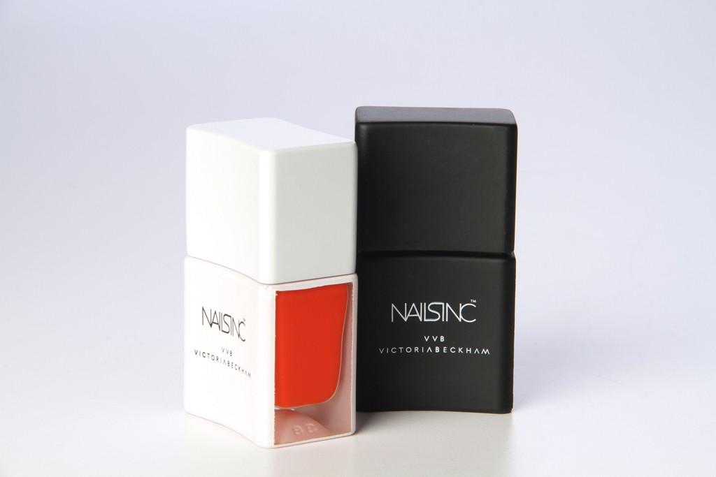 Victoria Victoria Beckham polishes for Nails Inc.