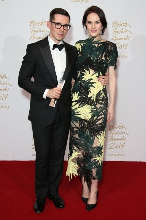 Erdem and Michelle Dockery
