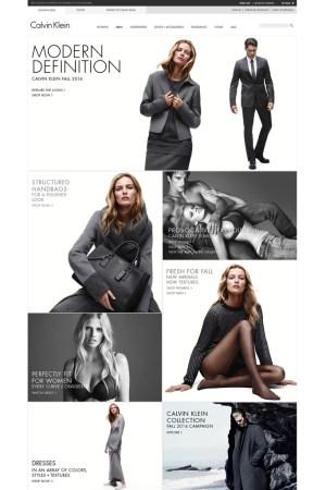 Calvin Klein is expanding online.