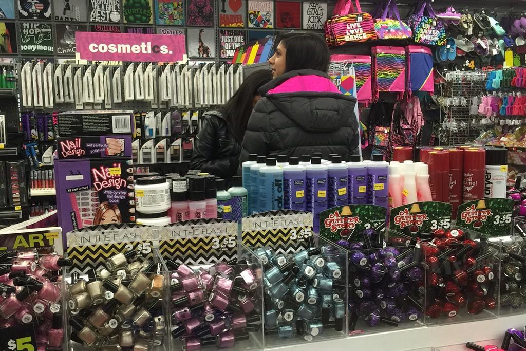 Shoppers at Five Below in Princeton, N.J.