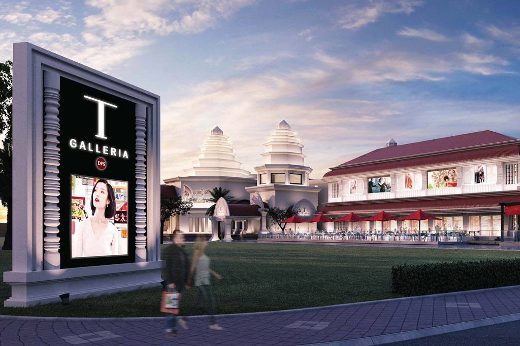 A rendering of the store in Cambodia.