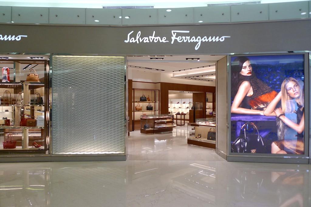 The Salvatore Ferragamo store inside Hamad International Airport.