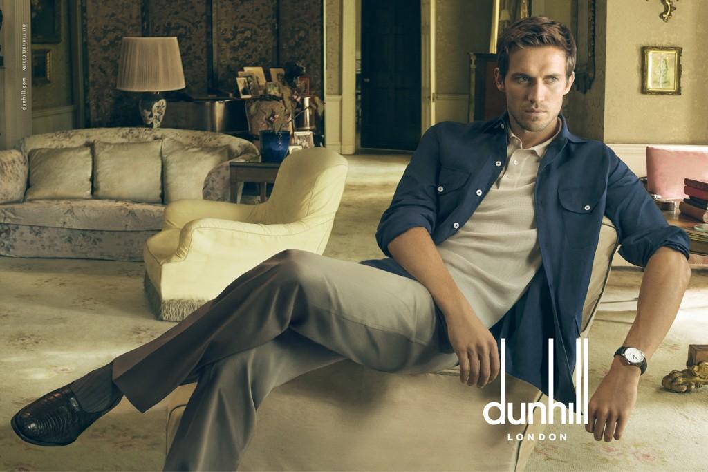 A Spring 2015 Dunhill ad