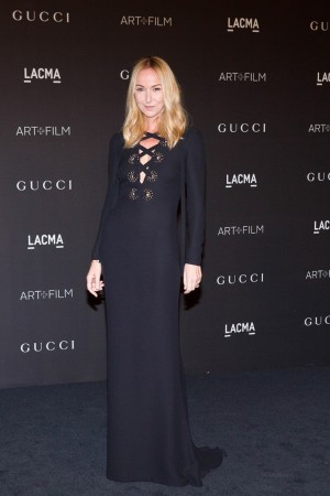 Frida Giannini in Gucci.