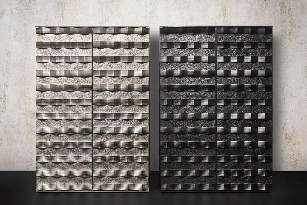 Peter Marino's bronze boxes.