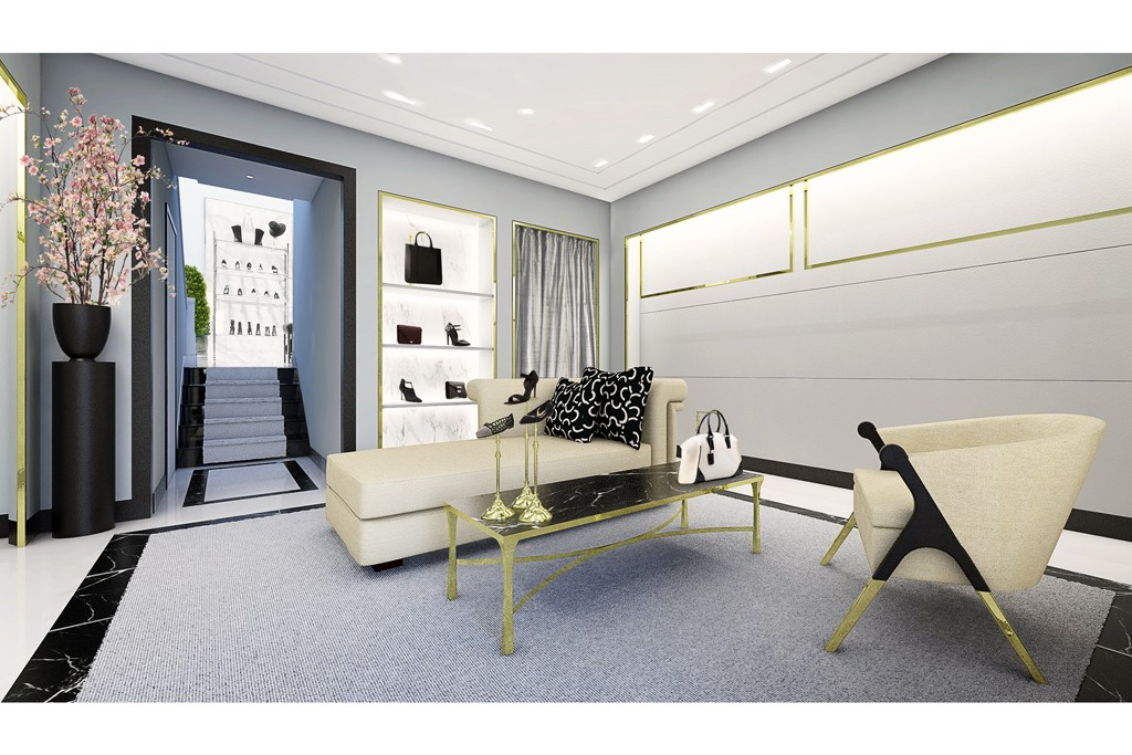 A rendering of Fivestory's renovated Madison Ave location.