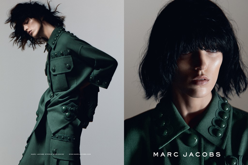 A visual from the Marc Jacobs spring '15 campaign.