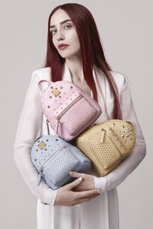 """Lizzy Jagger in MCM's spring ad campaign, titled """"Game On, Diamond Land."""""""