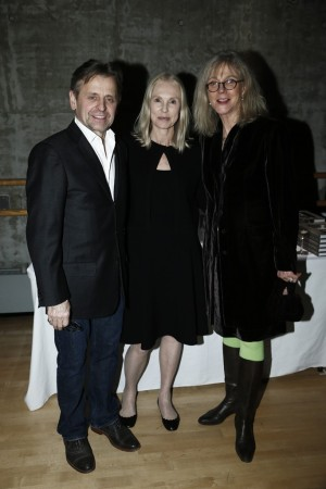 Mikhail Baryshnikov, Victoria Tennant and Blythe Danner.