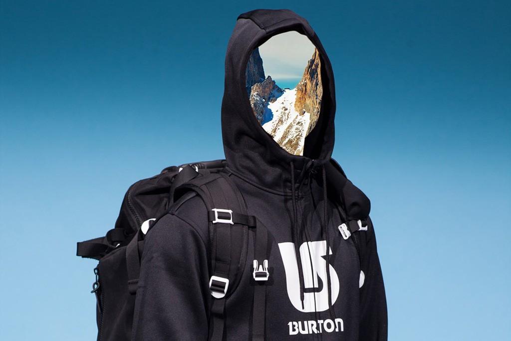 An weatherproof hoodie from Milk Studios' collaboration with Burton.