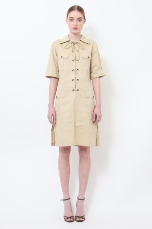 Yves Saint Laurent Sixties Safari laced tunic.