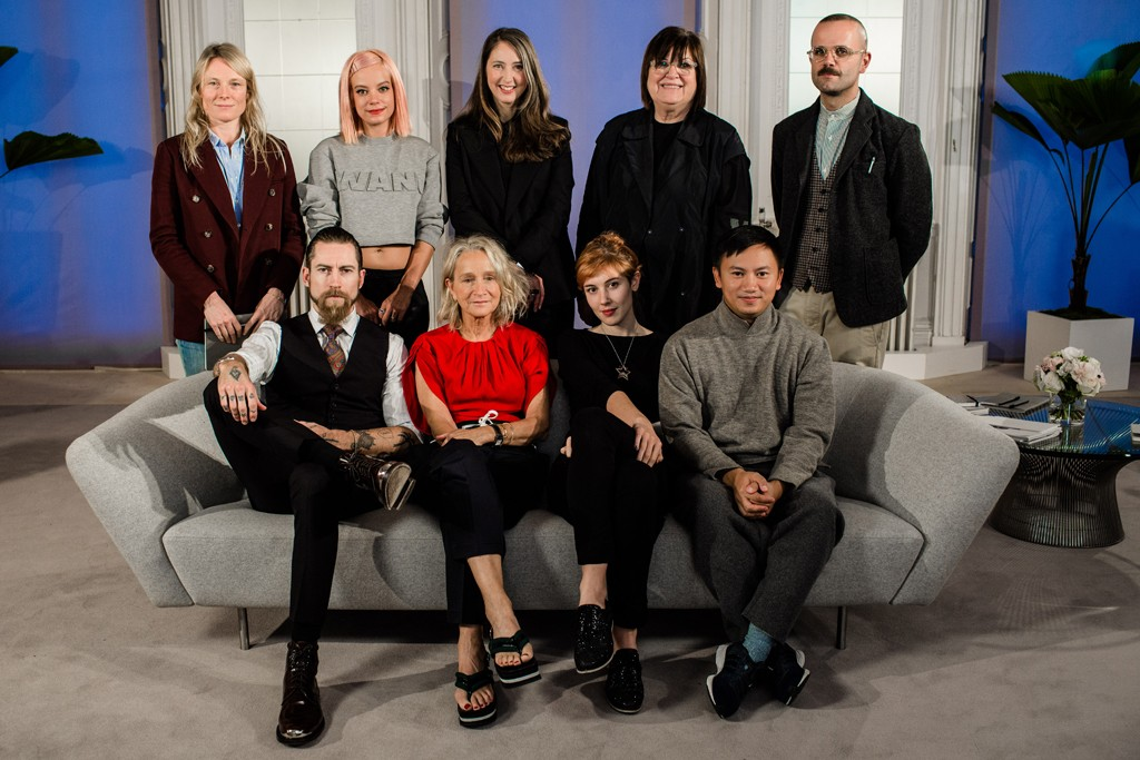 The jury of the H&M Design Award.