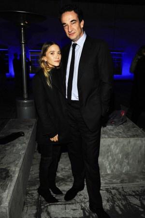 Mary-Kate Olsen and Olivier Sarkozy