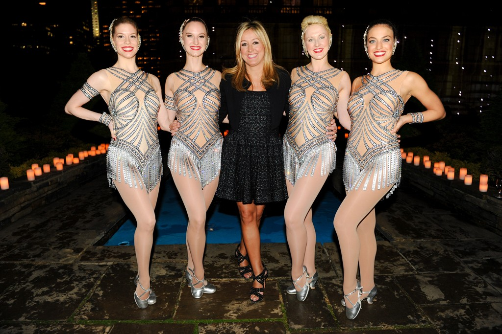 Marigay McKee with the Rockettes.