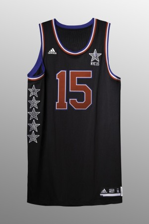 NBA's official 2015 All-Star Game uniform
