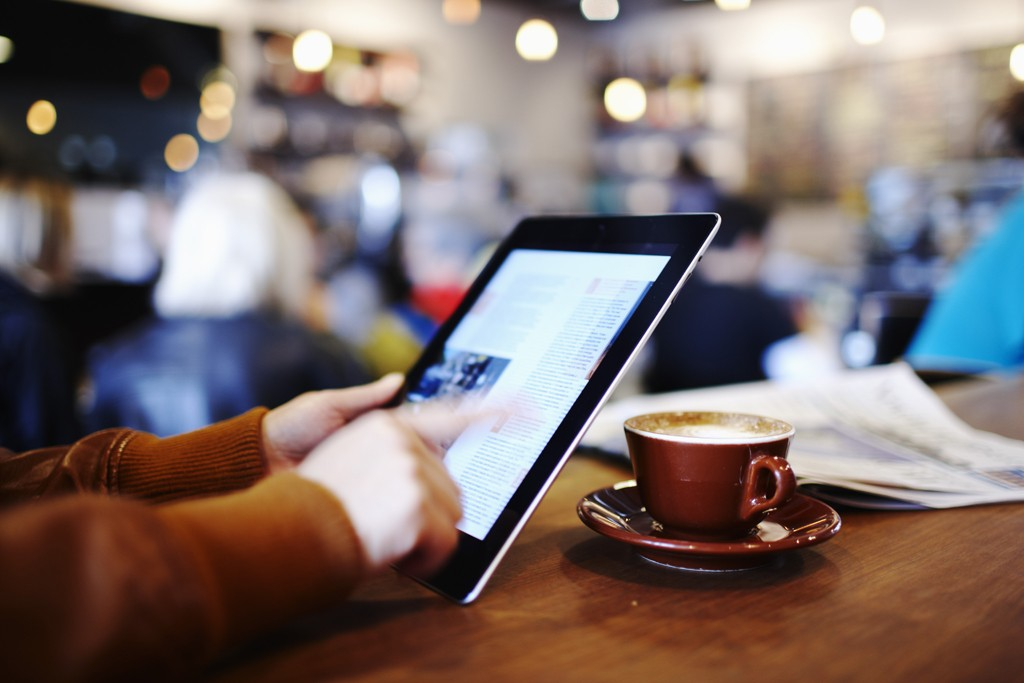 Most retailers conduct business with tablet use in mind.