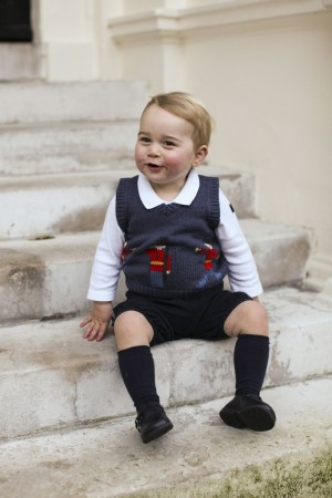 Prince George in Cath Kidston