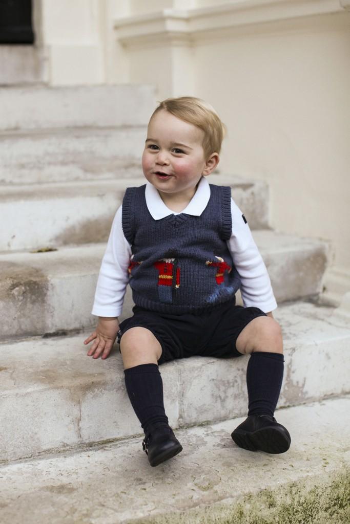 Prince George in Cath Kidston