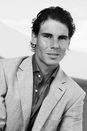 Rafael Nadal in Tommy Hilfiger Tailored.