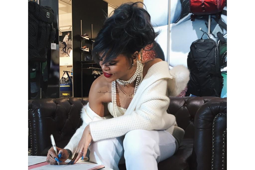 Rihanna for Puma.