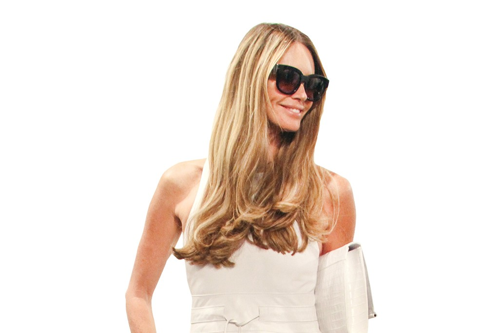 Elle Macpherson is among Josh Wood's starry clients.
