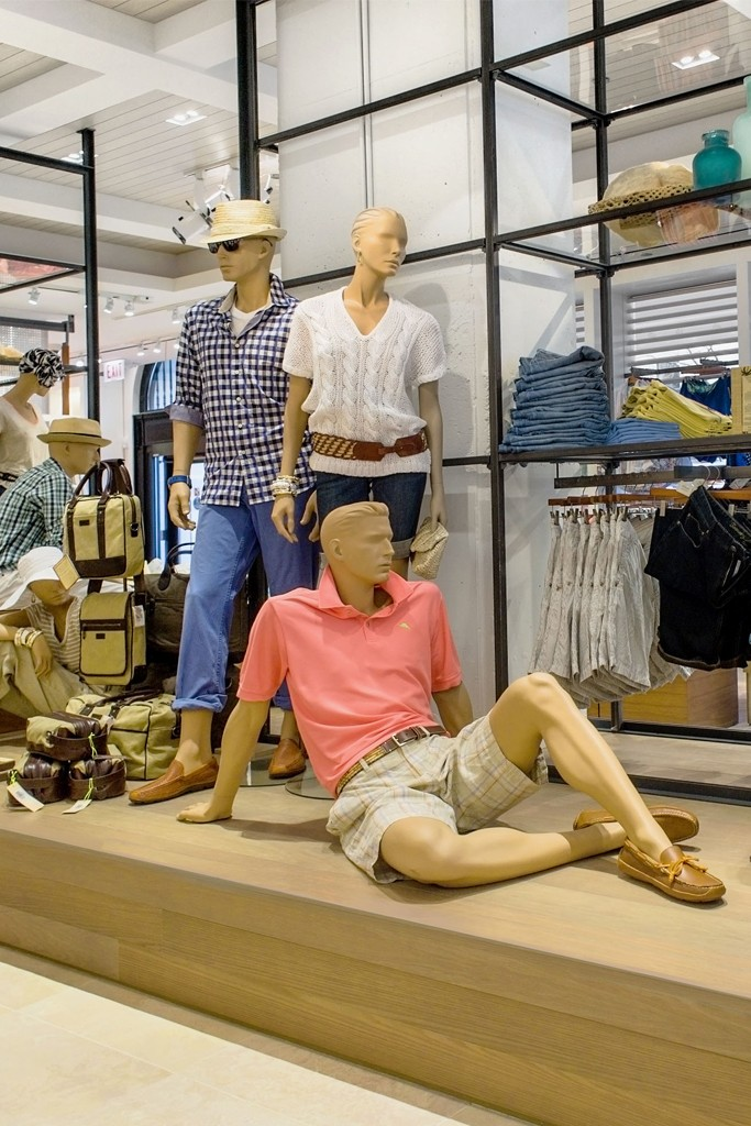 Tommy Bahama's Chicago flagship store.