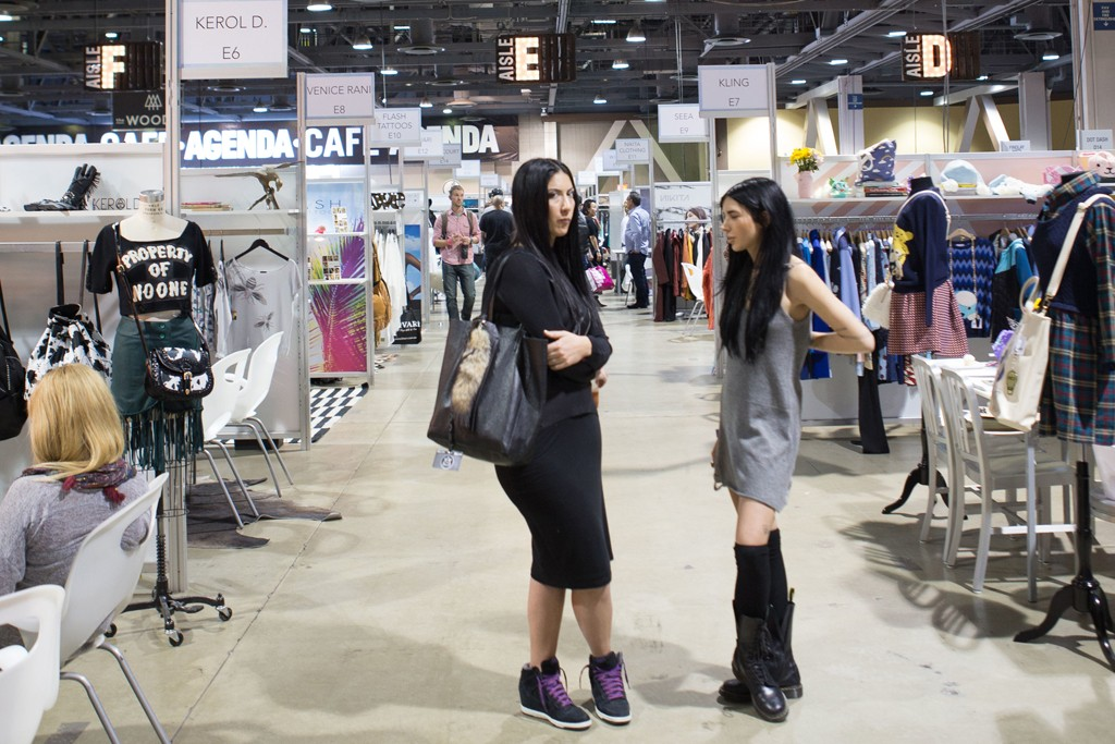 Men's wear continues to dominate Agenda trade show, although a women's section has helped diversify the mix of streetwear and action sports clothing.