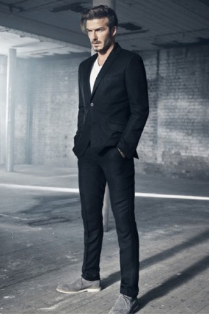 A look from Modern Essentials selected by David Beckham for H&M