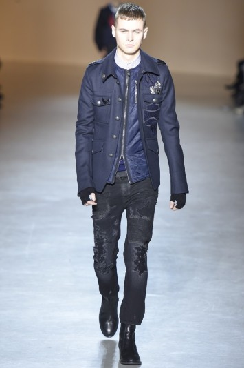 Diesel Black Gold Men's RTW Fall 2015