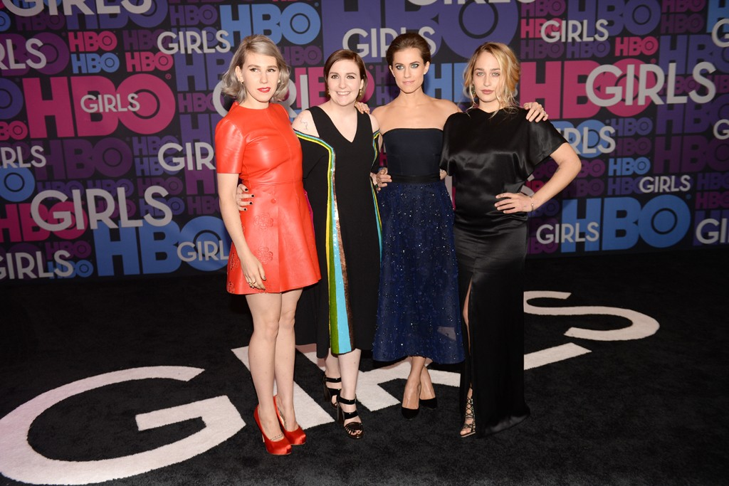 Zosia Mamet, Lena Dunham, Allison Williams and Jemima Kirke.