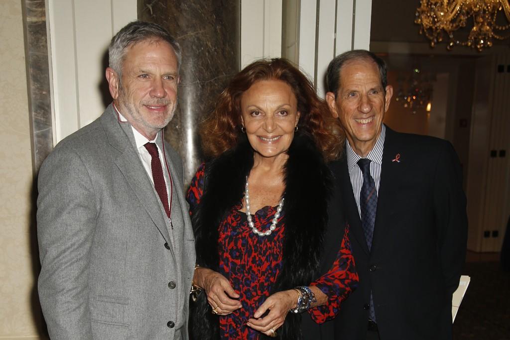 Joel Horowitz, Diane von Furstenberg and Michael Gould.