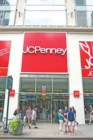 Bucking the trends, J.C. Penney is expected to post a 3.8 percent comps gain in the first quarter.