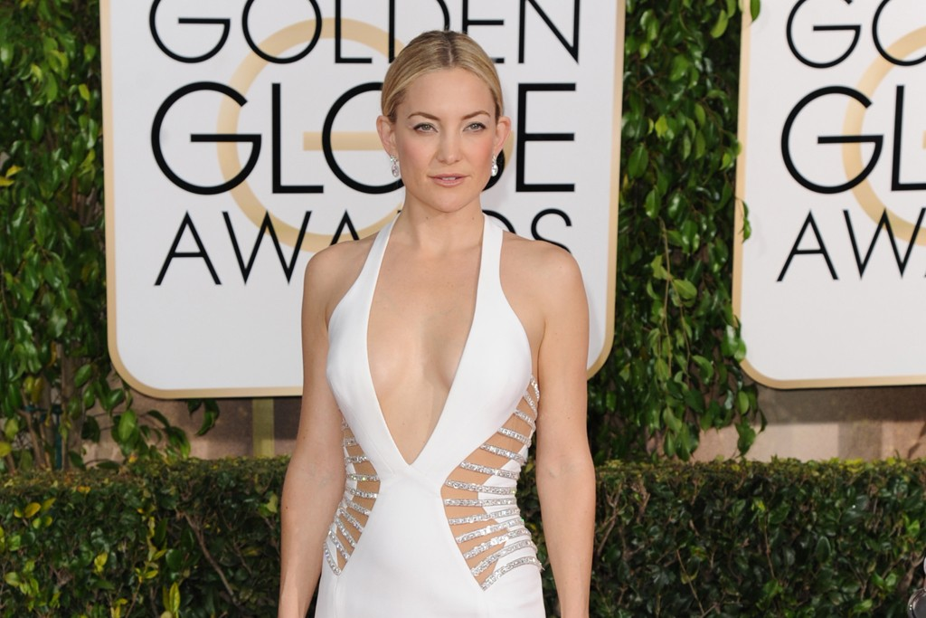 Kate Hudson in Versace and Forevermark.