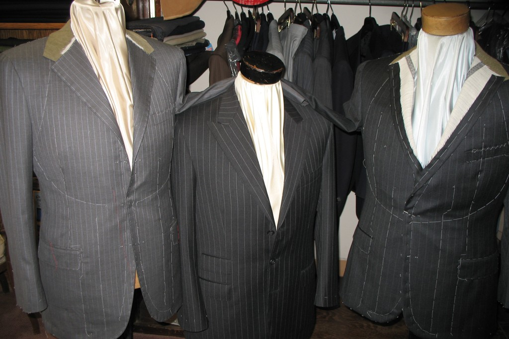 Suits at Centofanti Tailors.