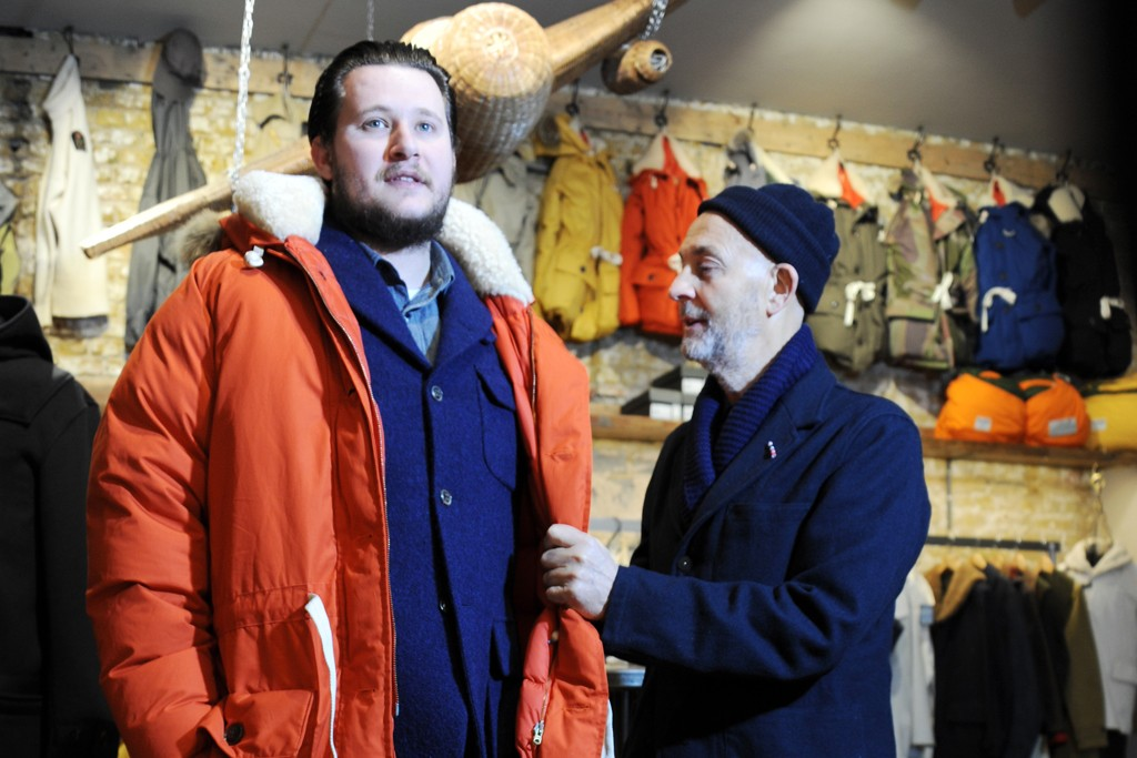 """British 1950s exploration clothing."" — Nigel Cabourn"