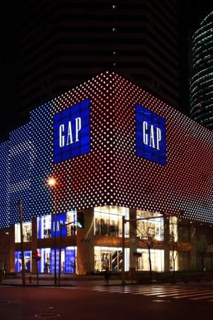 A Gap store at Hong Kong Plaza in Shanghai.