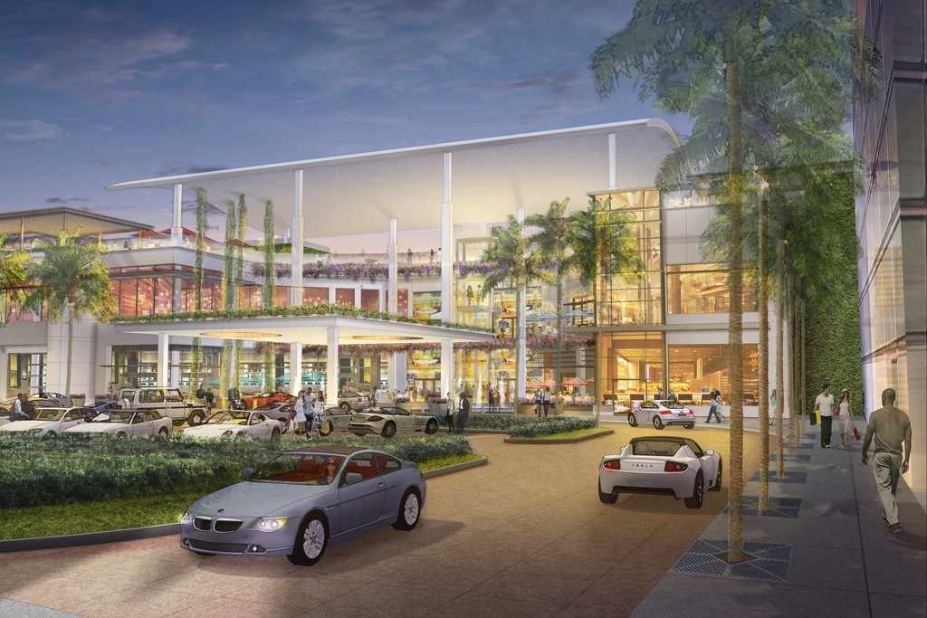 A rendering of the Mall of San Juan.