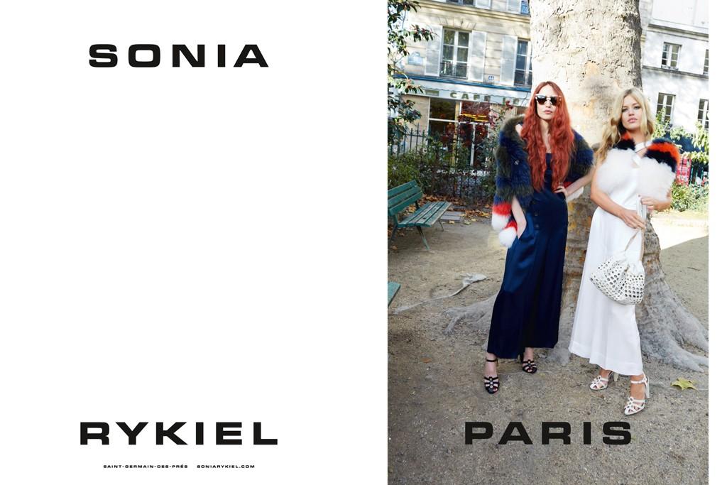 The Sonia Rykiel spring-summer campaign.