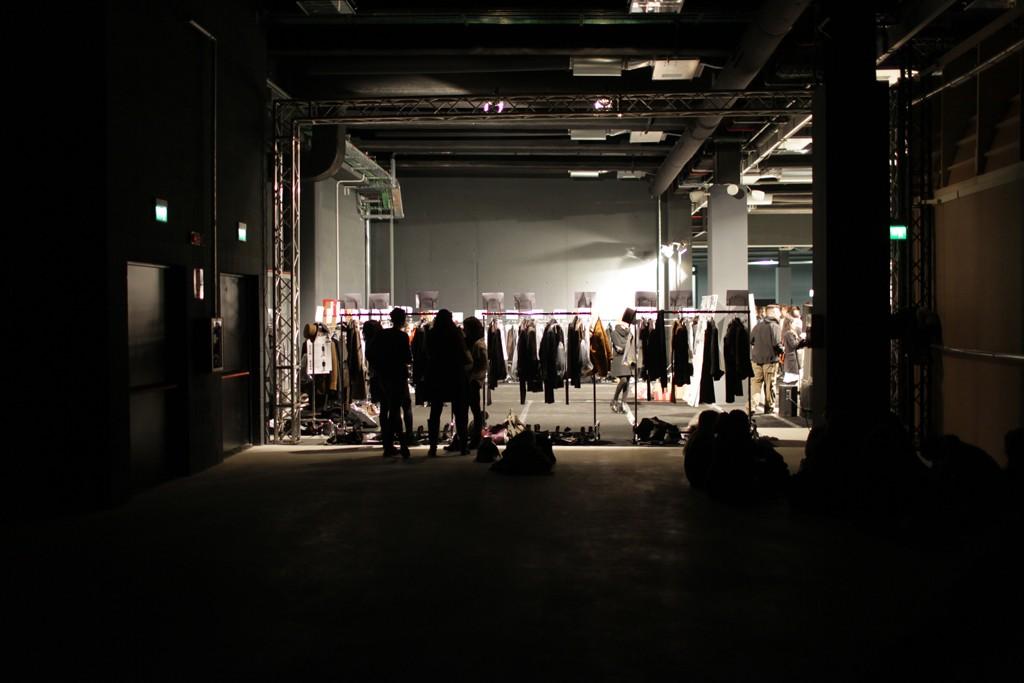 Backstage at John Varvatos Men's RTW Fall 2015